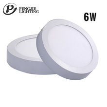 Mini Outdoor Surface Mounted Round Rgbw Led Smd Slim Panel Light Flat