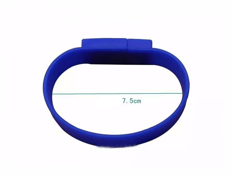 Hot selling, bulk cheap silicon wrist band usb,waterproof usb bracelet