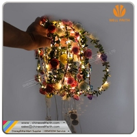 Hair Accessories Led Hair Light Garland Lights,Eco-friendly Light Up Blinking LED Hair For Girl At Party