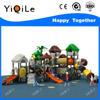 Jungle adventure outdoor play ground children's slide parts