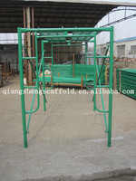 scaffolding frame/walk through scaffolding frames/good sell for scaffolding frame