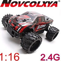 1:16 Big Wheel Off Road Monster RC Rock Crawler 2.4g Radio Control 4X4 Fast RC Truck