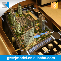 Architectural House Scale Apartment Model Led