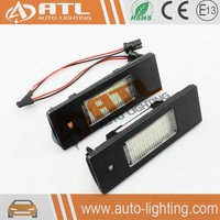 High quality Canbus 3528 12v no error for bmw x5 led license plate