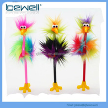 2016 hot new ostrich bird style pen for Halloween Day