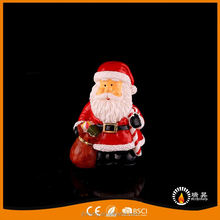 Santa Claus ingenuity real wax praffin christmas led candle lights