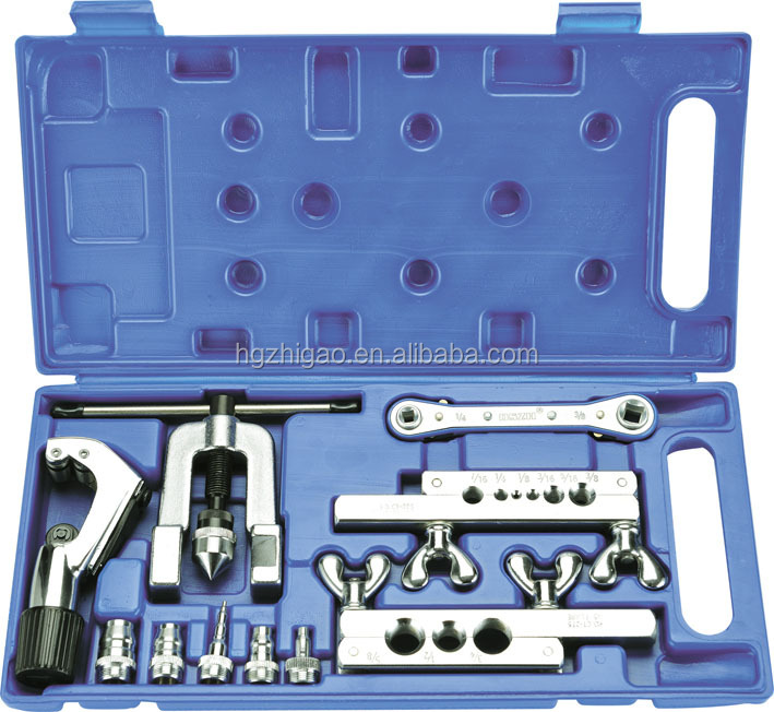 DSZH CT-278L Flaring & swaging Tools kit with tube cutter and retchet wrench inside