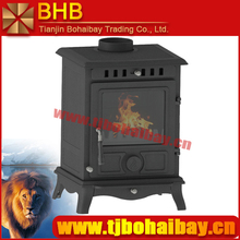 Hot sale indoor burning cast iron material wood stove