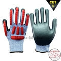 NMSAFETY TPR impact resistant glove mechanical gloves