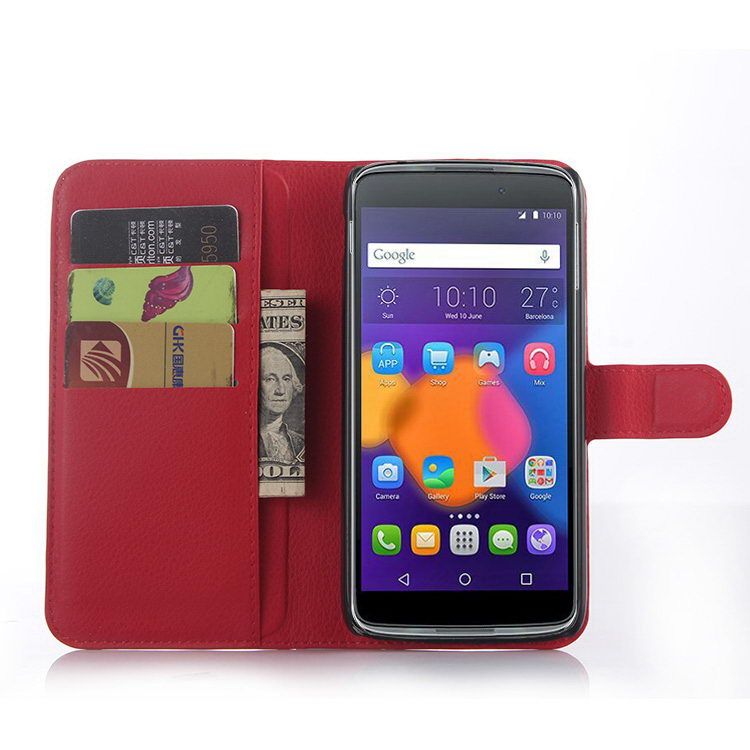 Alibaba china Crazy Selling leather case for alcatel idol 3 (5.5)