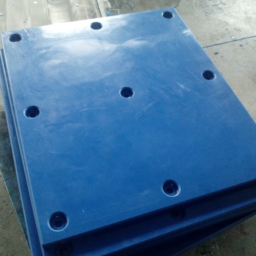 UHMWPE fender caps and bucket & Chute liner of coal bunker