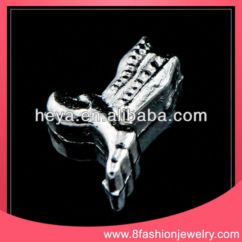 chromed plated horse shoe charms wholesale