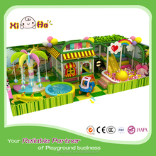 Creative Plastic Indoor Playground Equipment Commercial Indoor Jungle Gym Equipment