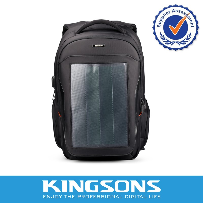 Phone charging backpack bag pack solar bag
