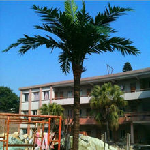 Outdoor Beautify Bionic Big Palm Tree Bionic Dry Tree Pole Steel Mounted Tree Made In China