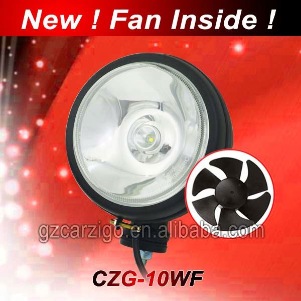 high power working light white headlight for motorcycle