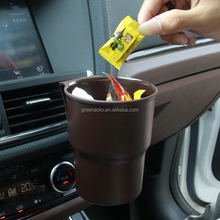 plastic car mini trash can
