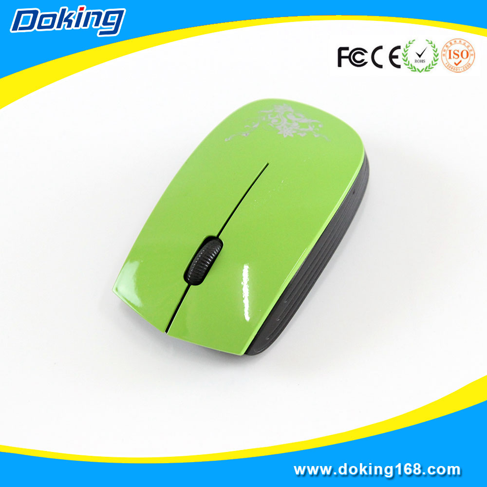 Unique shape M125 optical wireless mouse