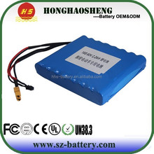 wholesale rechargeable lithium ion lifepo4 2.2ah 2.9ah 60v battery pack for airwheel