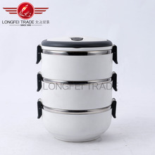 europe style top quality stainless steel lunch box bpa free