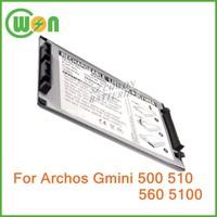 500738 500739 Battery for Archos Gmini 500 Gmini 530 Gmini 560 AV500 AV510 AV5100 AV530 AV560 AV580