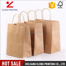 Newest sale different types brown grocery gift or shopping paper bags