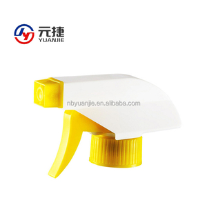 Plastic house cleaner trigger sprayer for glass spray bottle