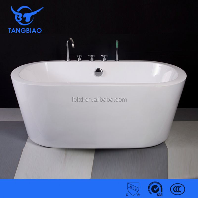 TB-B814 cheap prices free standing used bathtub for indoor bathroom