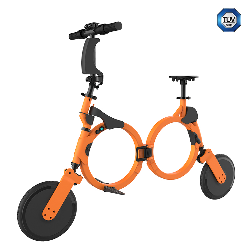 High Standard Smart Portable Folding Dirt E -bike With FCC certification Approved