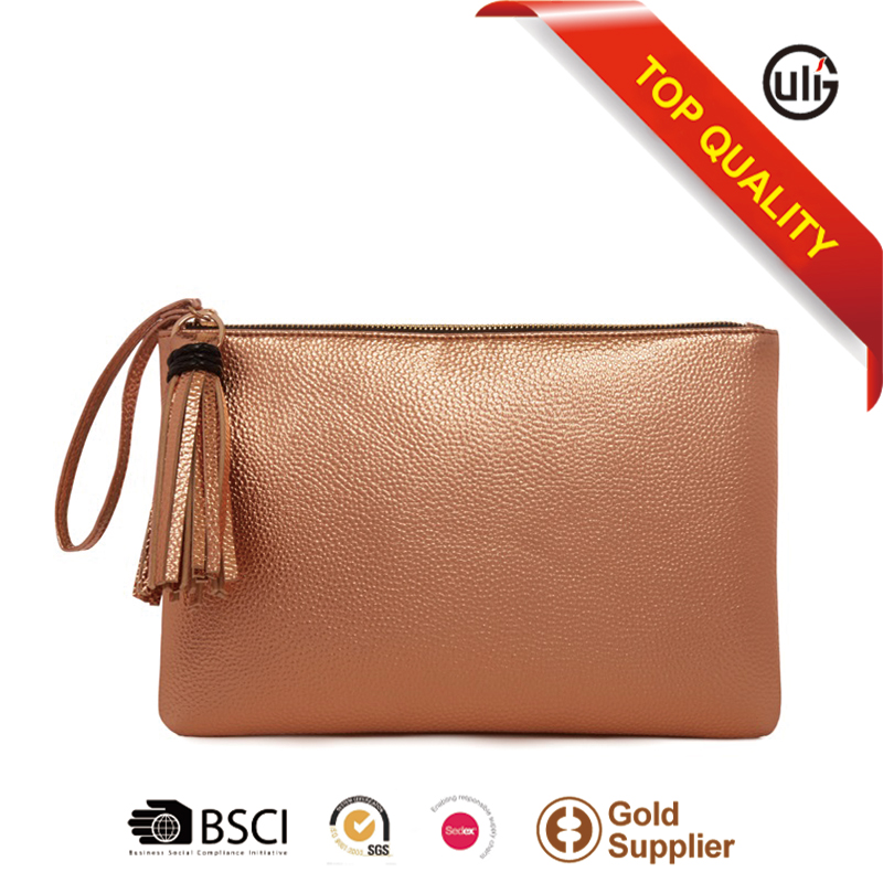 Yiwu market wholesale brand name genuine leather handbag