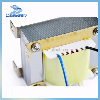Transformer for microwave oven magnetron filament transformer