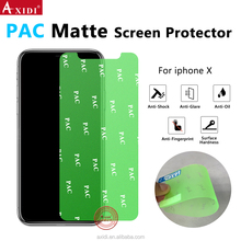 NANOSHIELD Amazon Supplier PAC Anti Shock Anti Glare Surface Cover for iPhone X Matte Screen Guard