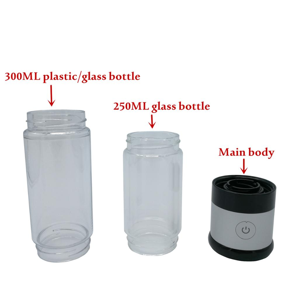 Newest H2 molecular hydrogen Alkaline Water bottle / maker alkaline water jug filter