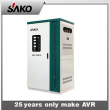 Professional three phase servo motor voltage stabilizer