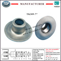 chinese manufacturer idler parts steel stamped TK309-177 bearing cap for roller pipe size 7""