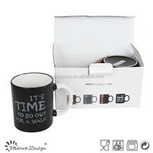 milk mug with foot special color high quality with word