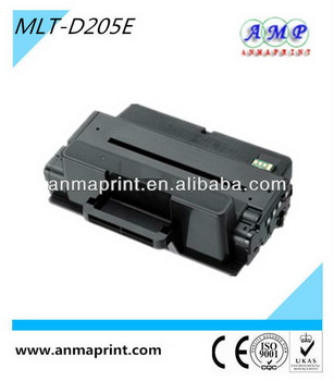 China manufacturer of office supply laser printer cartridge toner MLT-D205E compatible toner cartridge for Samsung printer