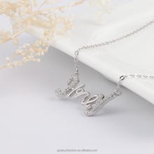 Online Jewellery Shopping 925 Sterling Silver ''Honey'' Pendant Necklaces