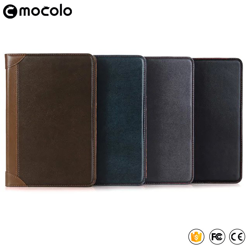 2017 Best Mocolo Tablet Accessories for ipad /ipad pro 9.7''&12.9'' Leather Cover Case