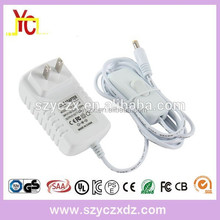 Switching power supply! White EU US UK AU wall plug ac/dc 24v 0.5a 1a power adapter
