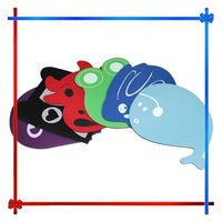 GP 48K round shaped mouse pads