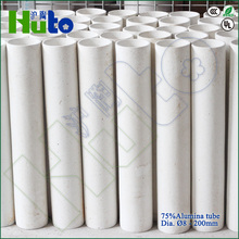 [HUTO CERATRIC] China manufacturer 75% Al2O3 Alumina kiln ceramic roller