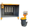 Powder Coating Booth with Spray Gun