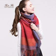China factory Winter Cable Knitted Cashmere Pashmina Scarf