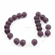 Natural Matte Amethyst Beads,Purple Gemstone Beads, Amethyst Mala Beads