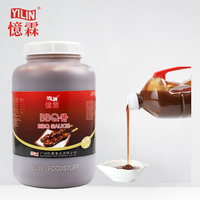 3kg bulk packed high quality original BBQ sauce for Picnic barbecue