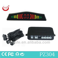 low price auto reverse sensor kit by three color led display