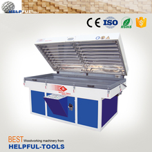 Helpful brand Shandong Weihai pvc vacuum membrane press machine HG2300C-3,vacuum press machine,vacuum membrane press