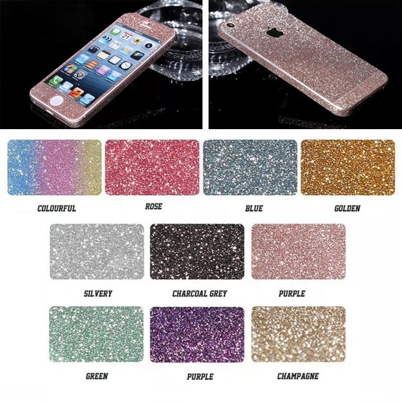 bling bling for iphone 5s screen protector 360 full body design,for apple mobile phone screen protector