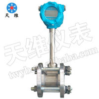 Vortex Flow Meter/Sensor/Transmitter for air gas steam liquid